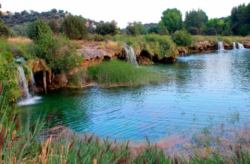 Lagunas de Ruidera Saltos de agua
