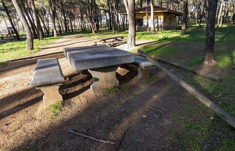 Parque de los Gavilanes, en Toledo