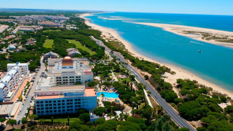 Playacartaya Aquapark & Spa Hotel, en Nuevo Portil, Huelva