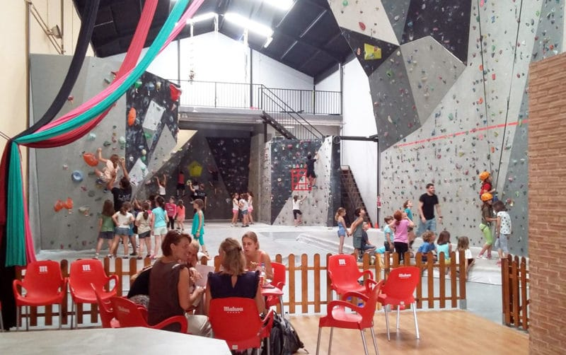 Rocódromo Laif Climbing Gym, en Valencia
