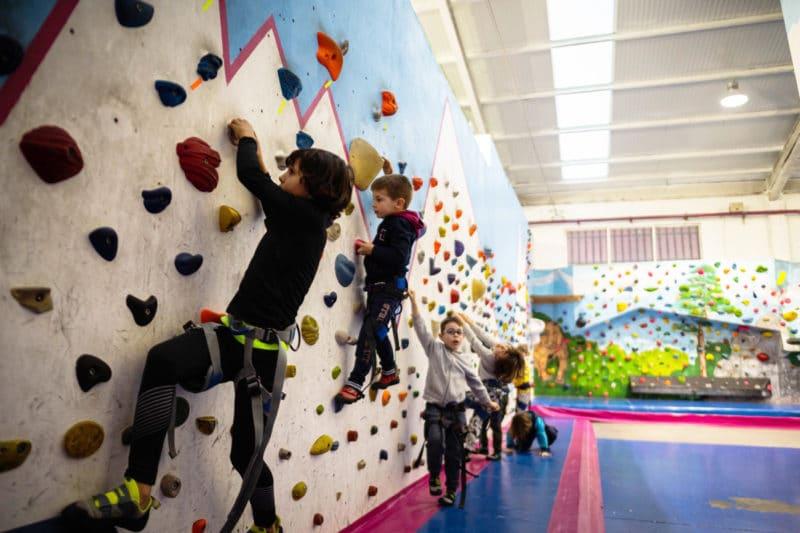 Rocódromo The climb Kids, en Madrid