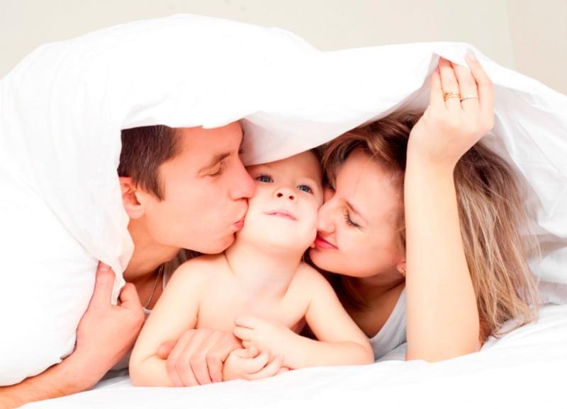beso antes dormir hijos