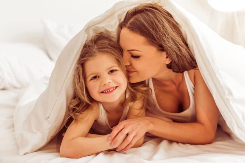 besos buenas noches hijos