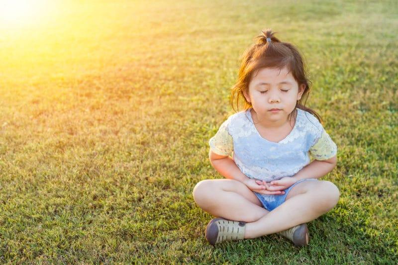meditar niños