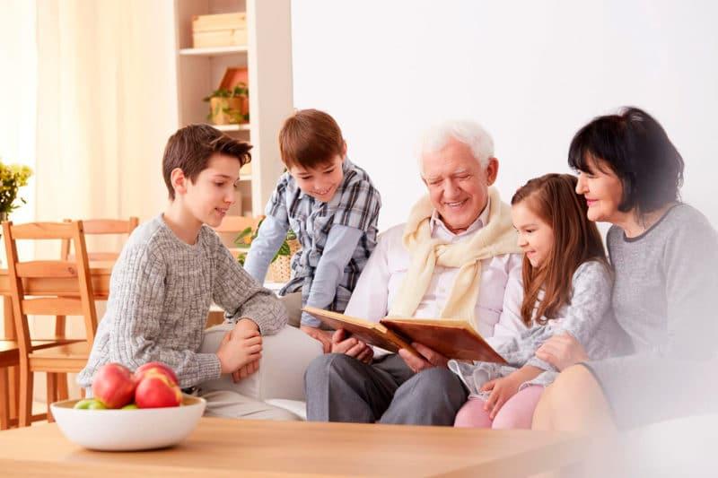 recuerdos abuelos hogar