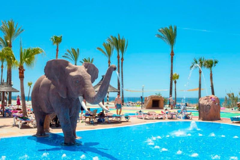 Holiday World Riwo Hotel, en Benalmádena, Costa del Sol, Málaga