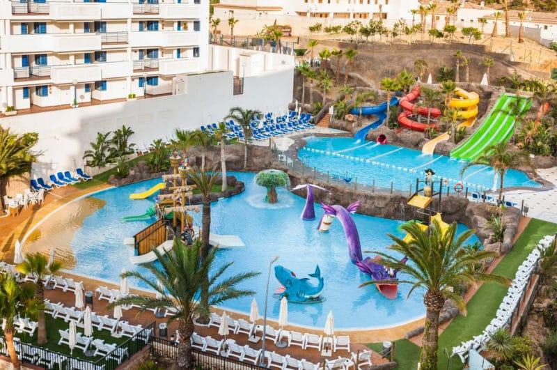 Hotel Globales Los Patos Park, en Benalmádena, Costa del Sol, Málaga