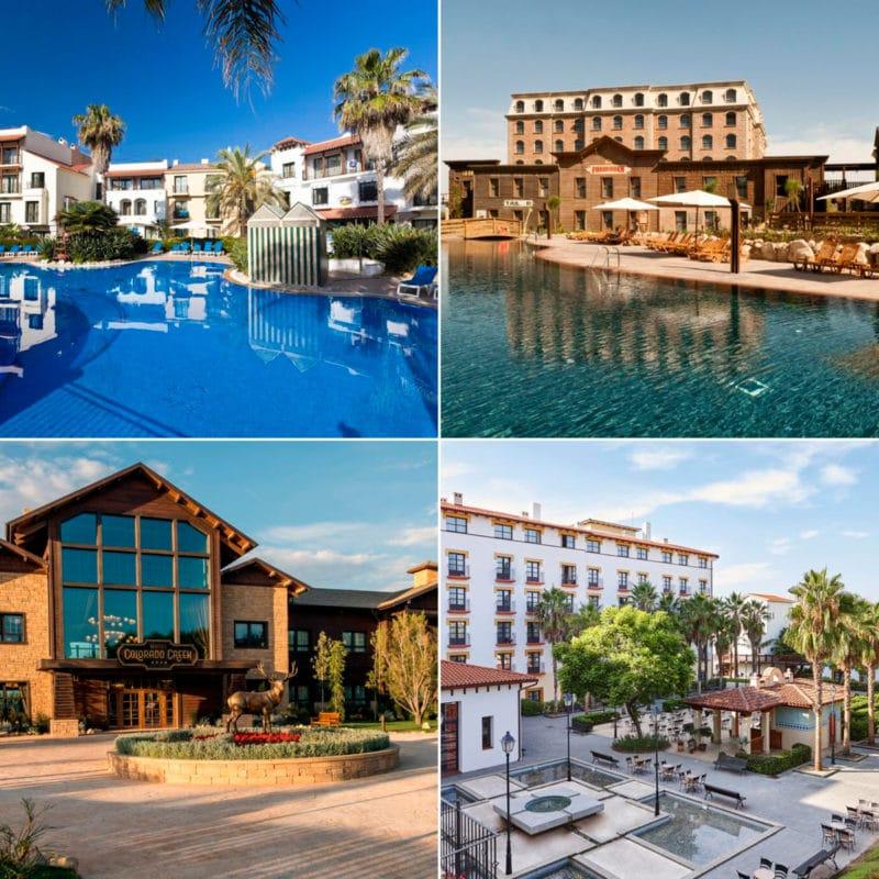 Hoteles tematicos Port Aventura World