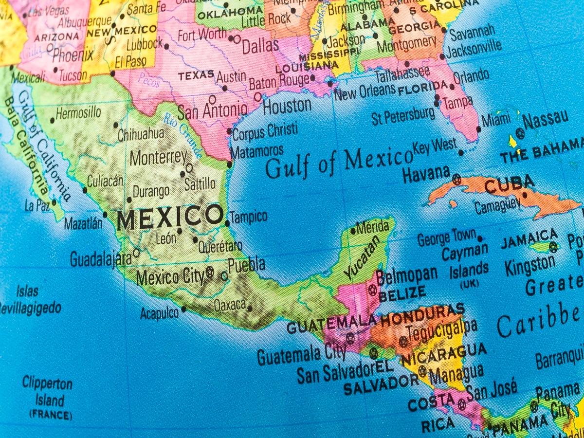 Los 7 mejores mapas de México para imprimir