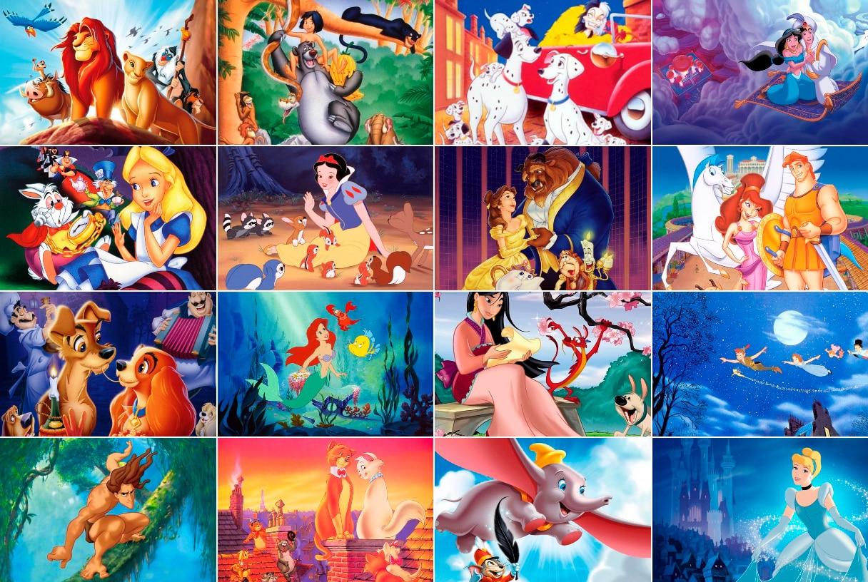 Las 20 mejores películas de Disney de todos los tiempos