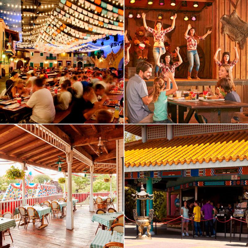 Restaurantes temáticos Port Aventura