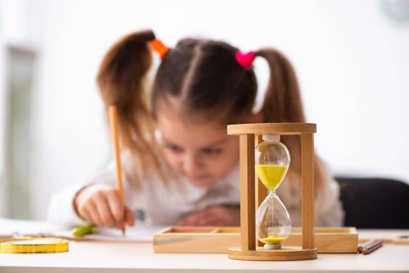 Técnica reloj trabajar conducta infantil