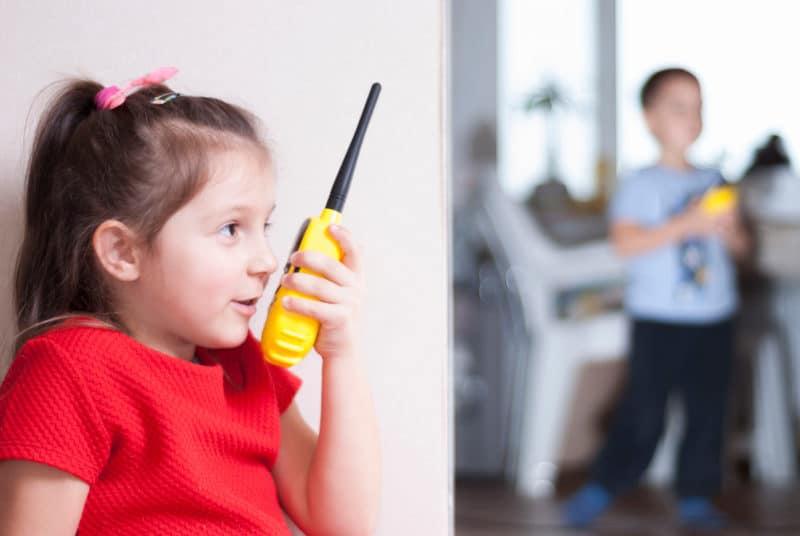 walkie talkie niños