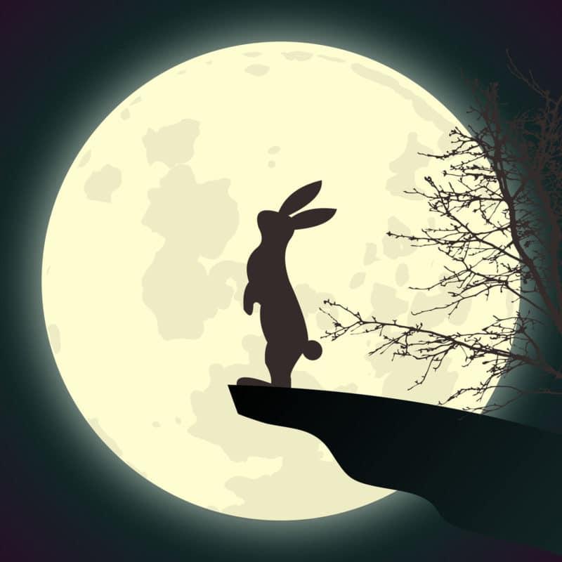 Cuento El conejo en la Luna