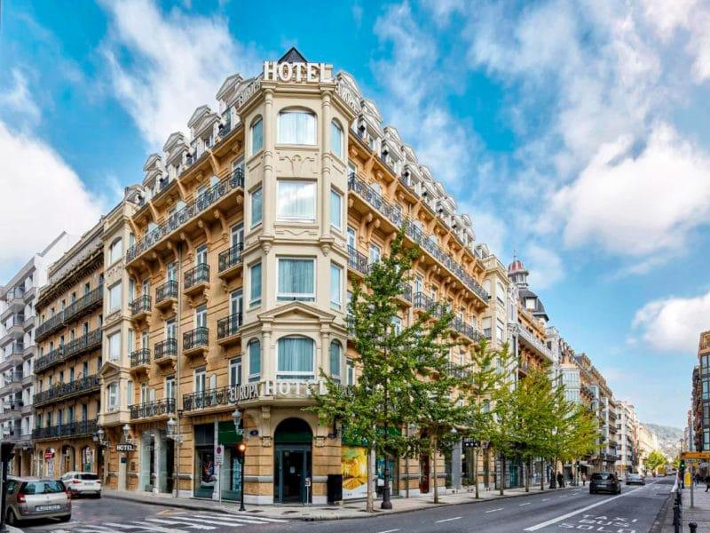 Sercotel Hotel Europa, en San Sebastián