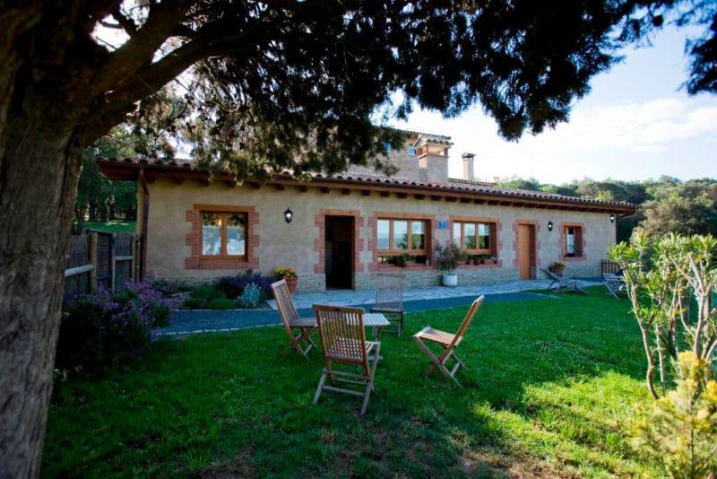 Casa rural Mas Pratsevall, en Taradell, Barcelona