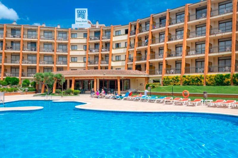 Hotel GHT Tossa Park, en Tossa de Mar