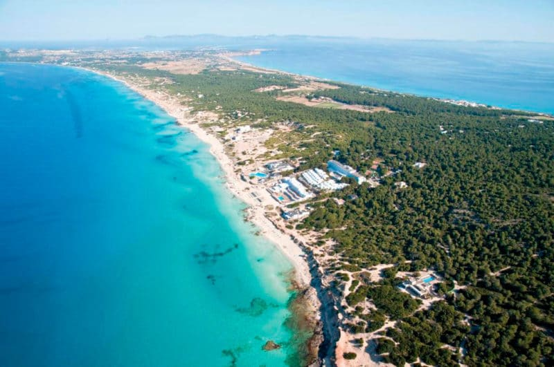 Hotel Riu La Mola, en Platja de Migjorn, Formentera