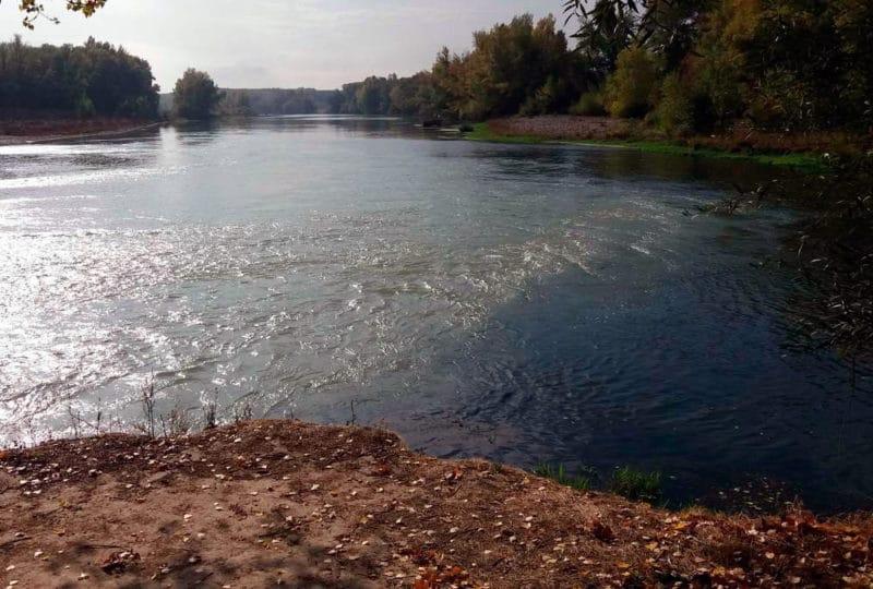 Río Aragón, en Navarra
