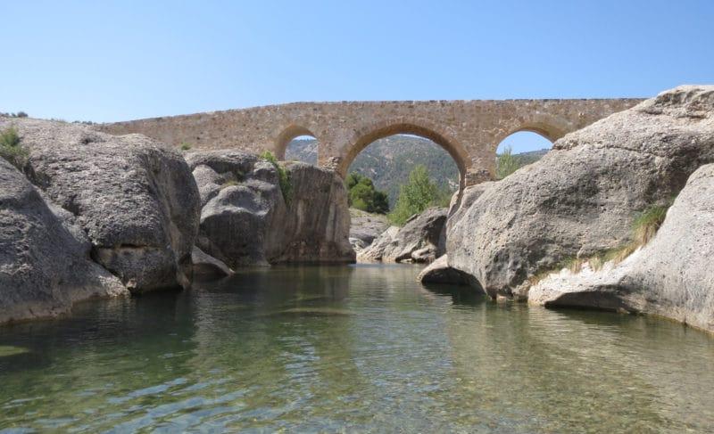 Río Bergantes, en Teruel