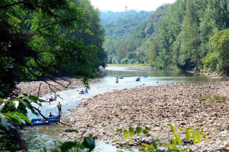 Río Sella, en Asturias