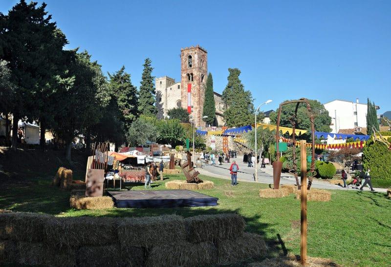 Sant Pere de Vilamajor Montseny Barcelona