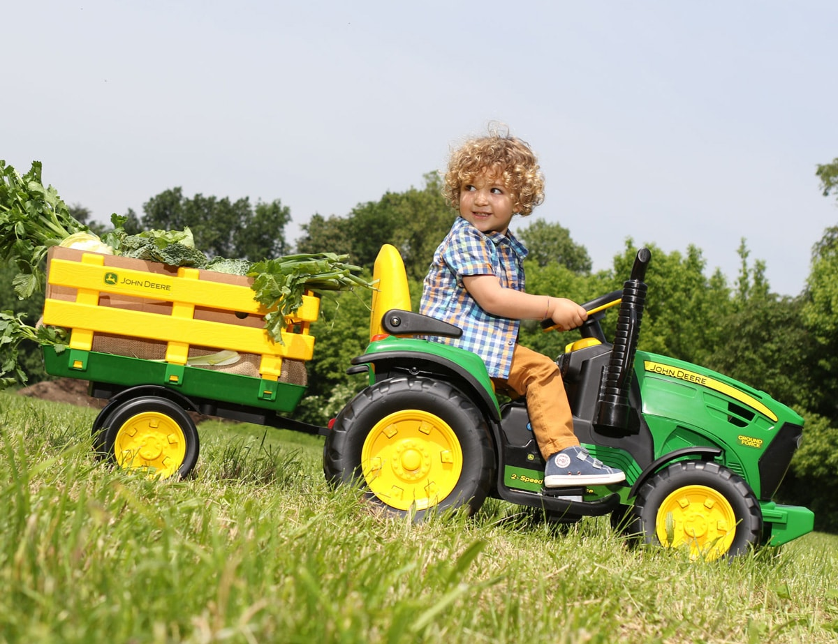 Tractores infantiles ideales para los pequeños de casa