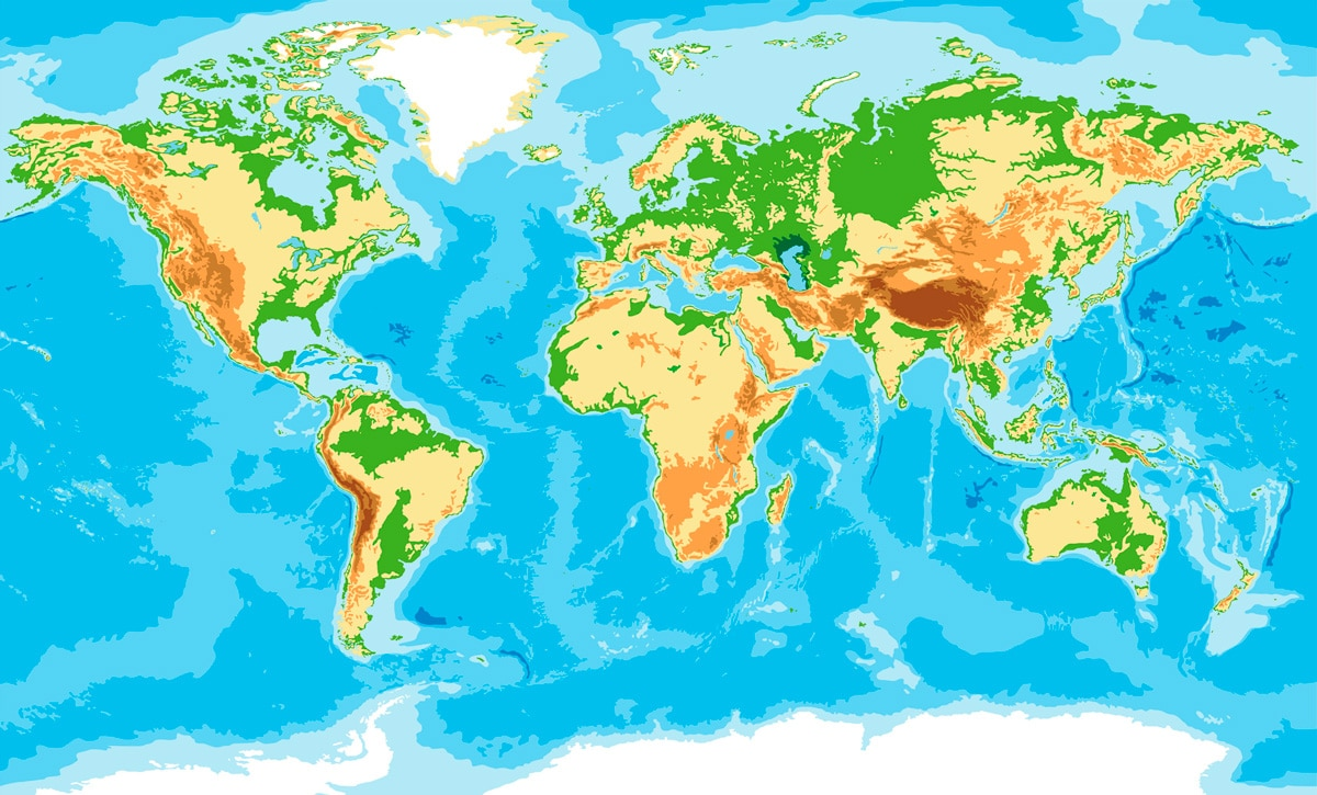 Los continentes del mundo explicados para los niños