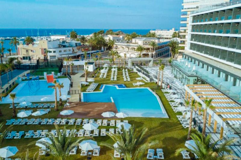 30 Degrees - Hotel Dos Playas Mazarrón, en Puerto de Mazarrón, Murcia
