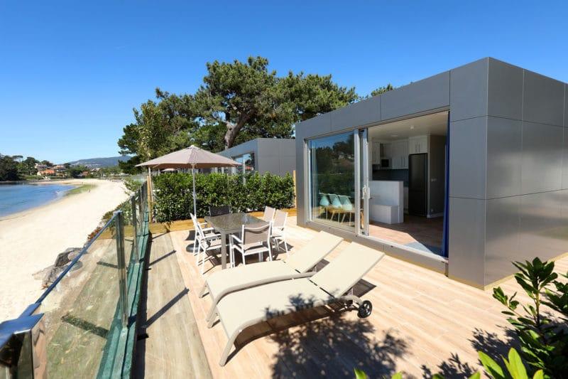 Camping Bayona Playa, en Sabaris, Pontevedra