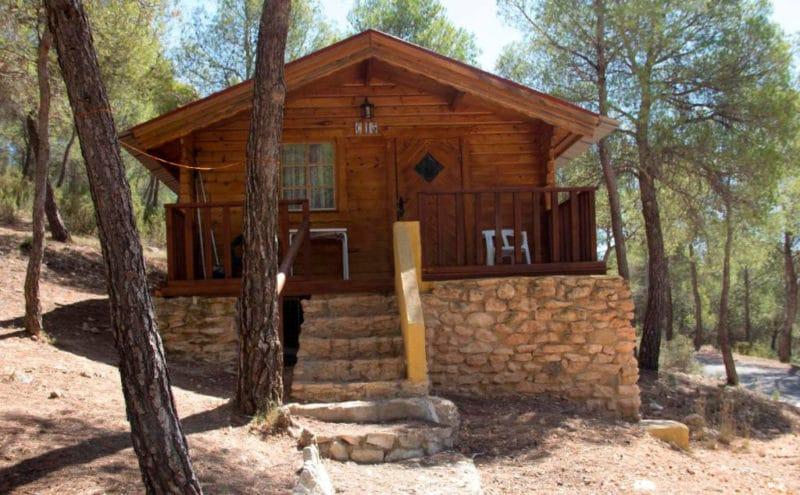 Camping La Puerta, en Moratalla, Murcia