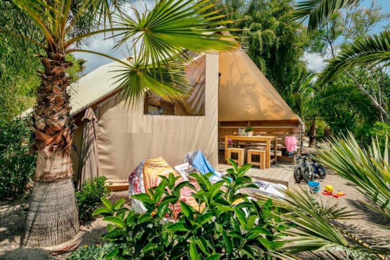 Gavina Camping Village, en Creixell, Tarragona
