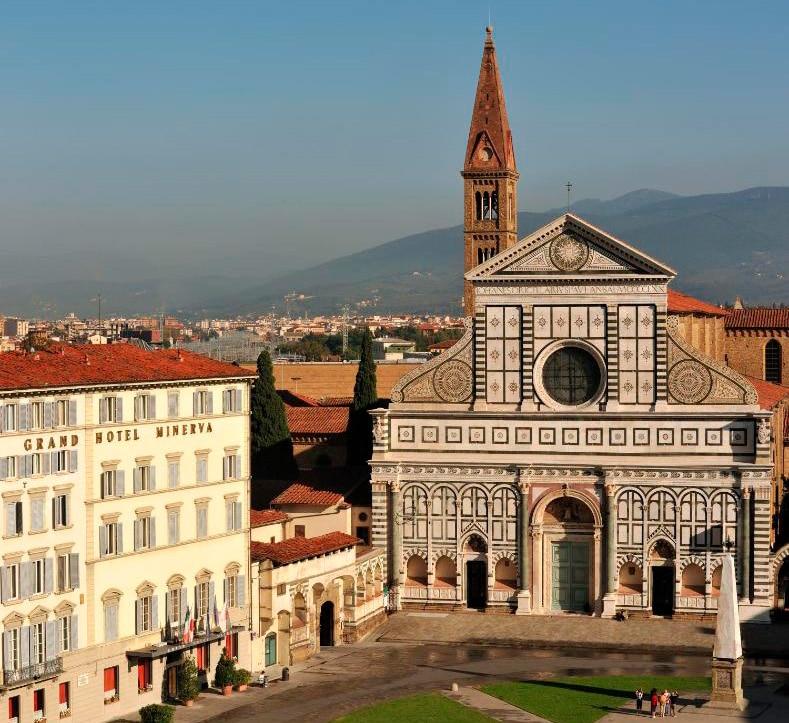 Grand Hotel Minerva, en Florencia, Italia