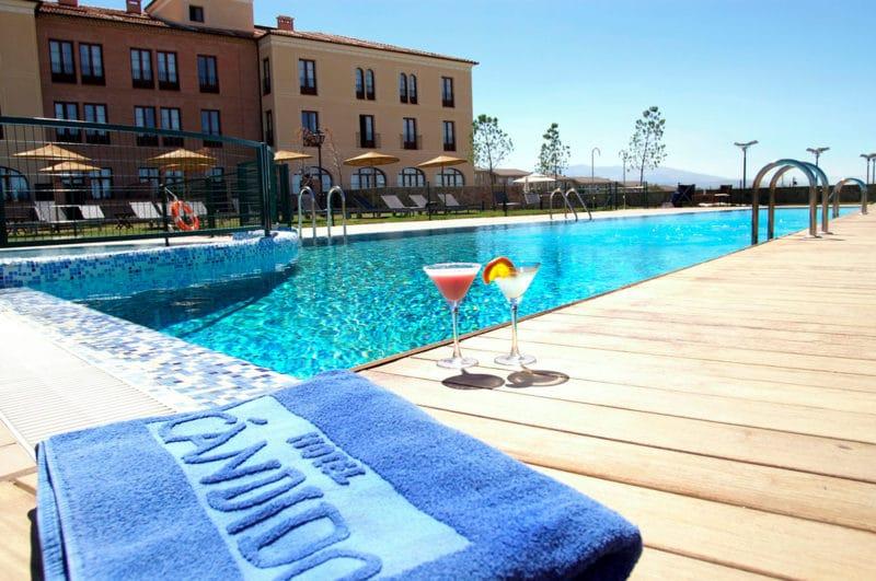 Hotel Cándido, en Segovia