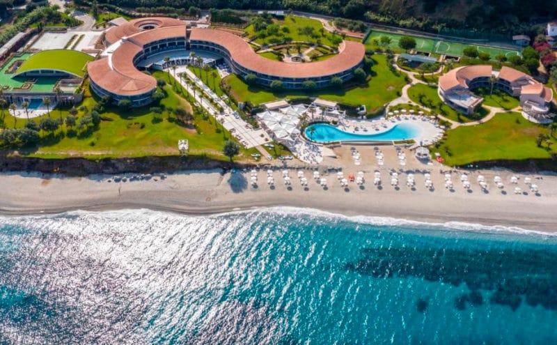 Hotel Capovaticano Resort Thalasso Spa, en Capo Vaticano, Calabria, Italia