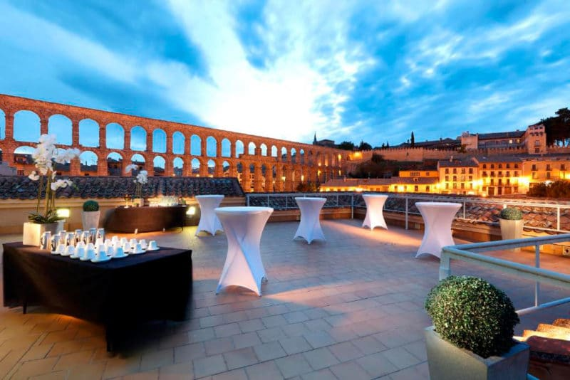 Hotel Eurostars Plaza Acueducto, en Segovia