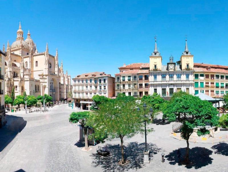 Hotel Infanta Isabel, en Segovia