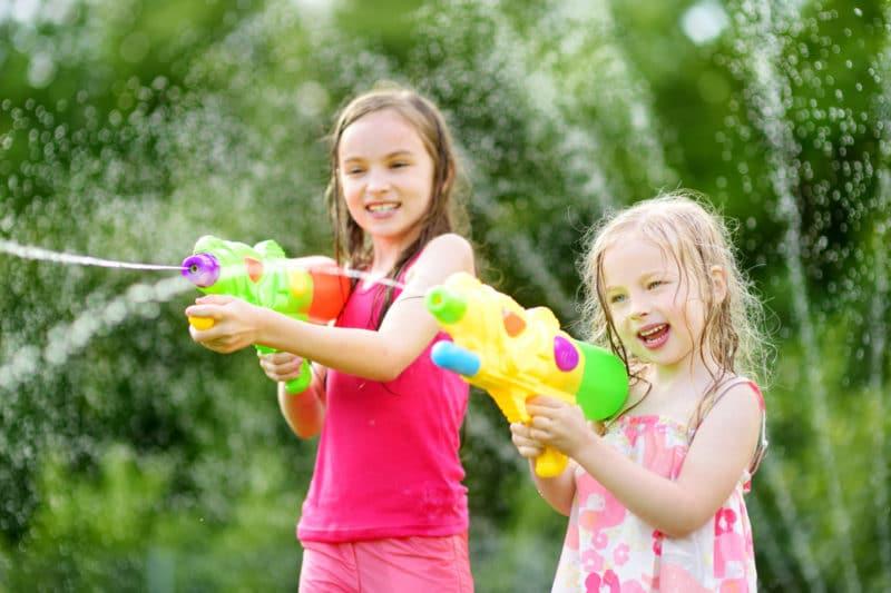 Juegos pistolas de agua