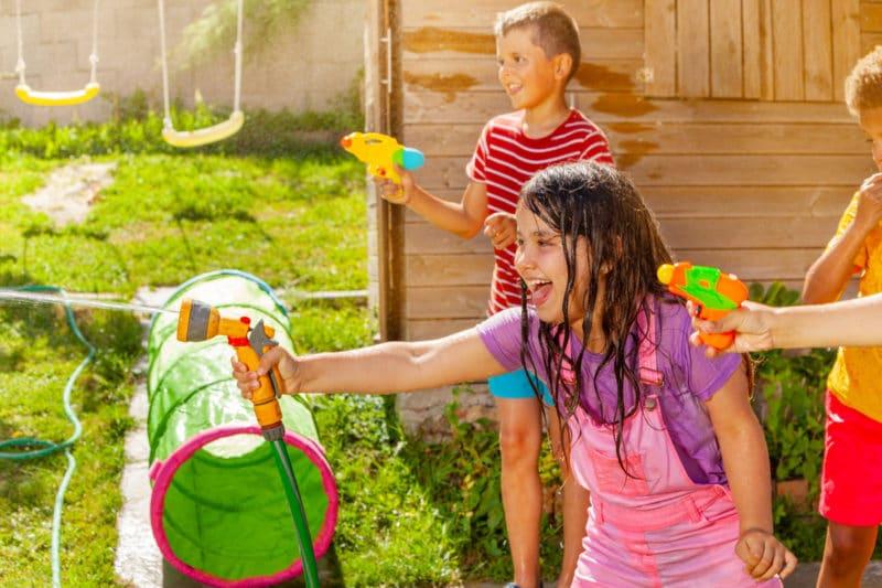 7 juegos con pistolas de agua para divertirse en verano