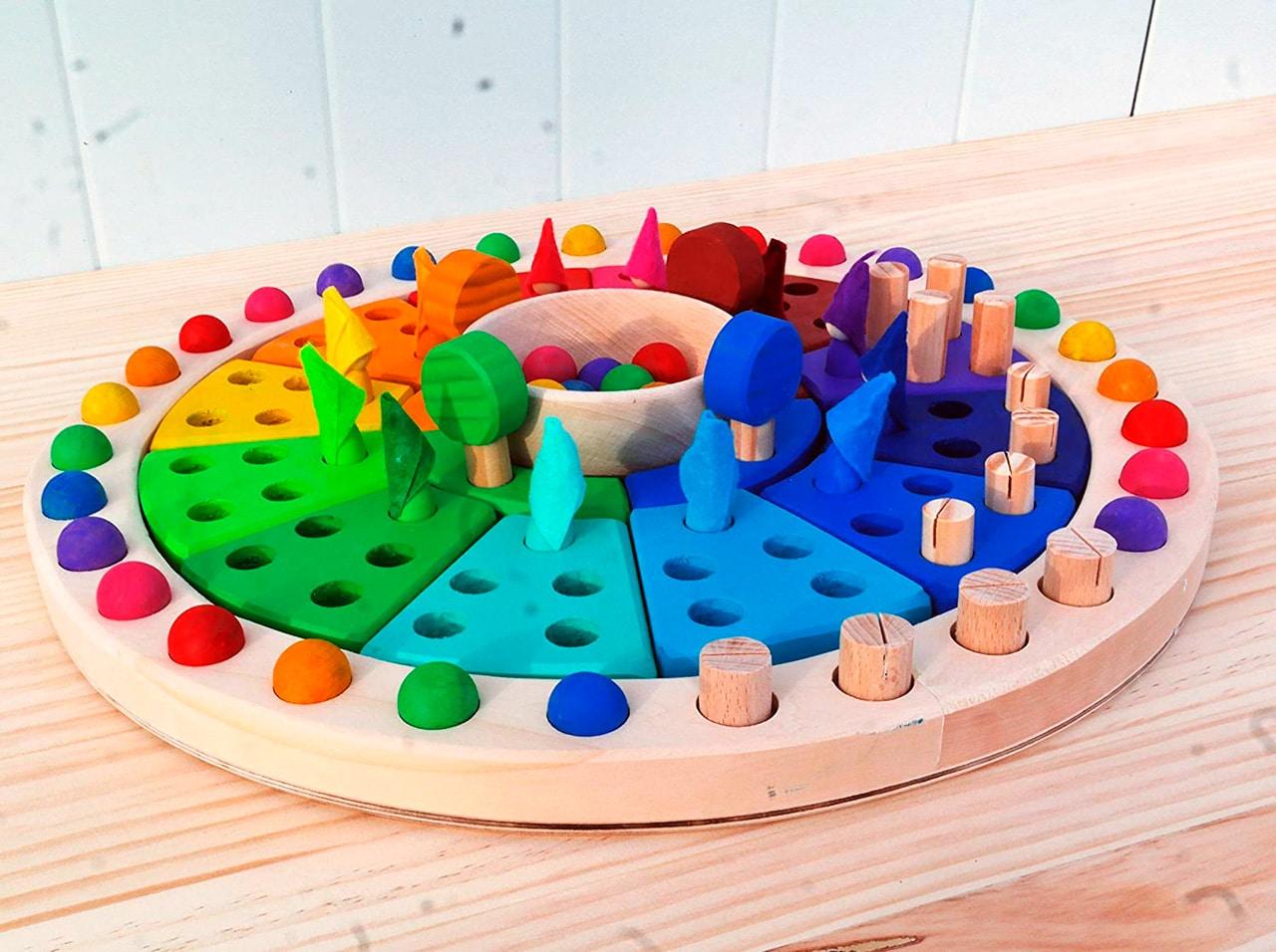 Calendario Waldorf – Montessori para los más pequeños de casa