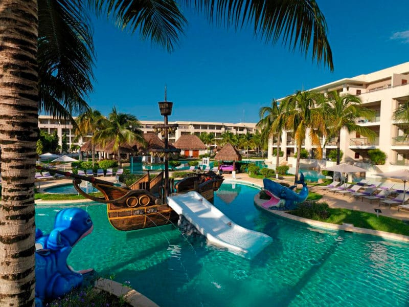 Hotel Paradisus Playa del Carmen, en Playa del Carmen, Riviera Maya, México