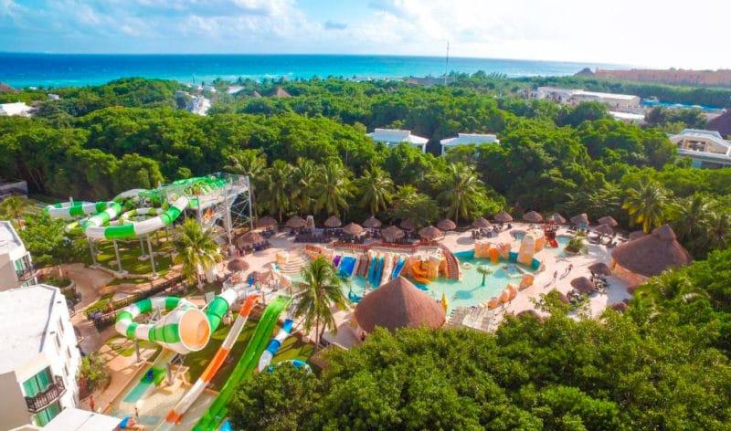 Hotel Sandos Caracol Eco Resort, en Playa del Carmen, Riviera Maya, México