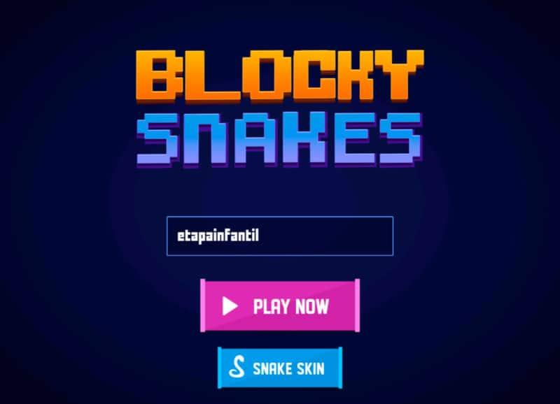 Juego FRIV Blocky Snakes