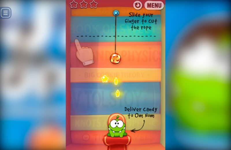 Juego FRIV Cut the Rope Experiments