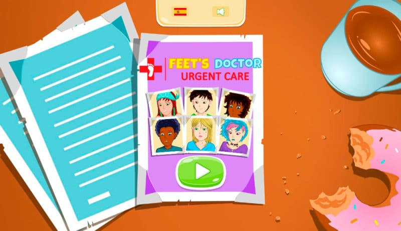 Juego FRIV Feet's Doctor: Urgency Care