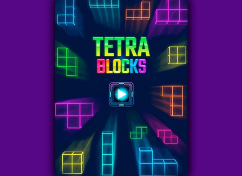 Juego FRIV Tetra Blocks