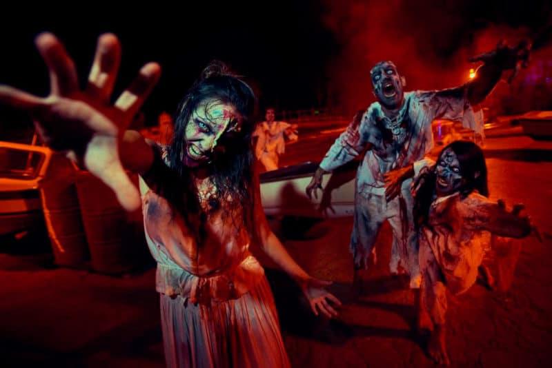 Pasaje del terror Halloween PortAventura