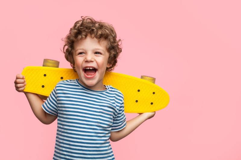 Niño feliz