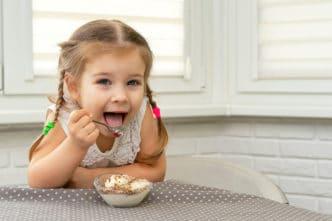 Niños y helados en verano