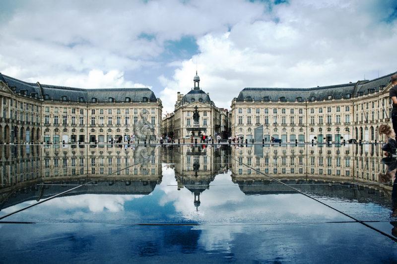 Bordeaux con niños, en Francia